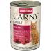 ANIMONDA CARNY ADULT с говядиной и сердцем консервы для взрослых кошек