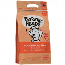 BARKING HEADS МИСОЧКУ ОБЛИЖЕШЬ беззерновой с лососем и картофелем для взрослых собак 2кг