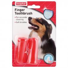 BEAPHAR 11327 FINGER TOOTHBRUSH зубная щетка на палец для собак