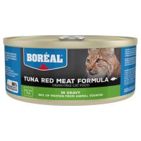 Консервы для кошек всех возрастов BOREAL беззерновые с красным мясом тунца в соусе 80г