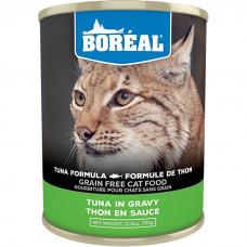 Консервы для кошек всех возрастов BOREAL беззерновые с красным мясом тунца в соусе 355г