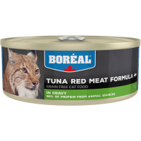 Консервы для кошек всех возрастов BOREAL беззерновые с красным мясом тунца в соусе 156г