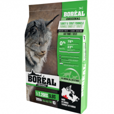 Сухой корм для кошек всех возрастов BOREAL ORIGINAL беззерновой с индейкой и форелью 36/16