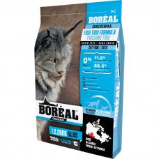 Сухой корм для кошек всех возрастов BOREAL ORIGINAL беззерновой с 3 видами рыбы 36/16