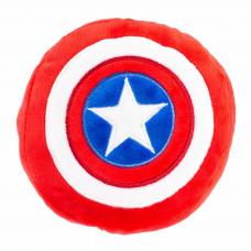 BUCKLE-DOWN КАПИТАН АМЕРИКА игрушка-пищалка для собак мягкая мультицвет 20см