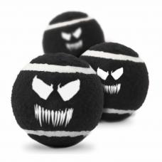 BUCKLE-DOWN ВЕНОМ теннисный мяч 7см для собак черный 1шт
