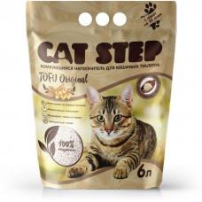 CAT STEP TOFU ORIGINAL наполнитель растительный комкующийся без ароматизаторов