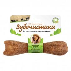 ЗУБОЧИСТИКИ с говядиной лакомство для собак средних пород 95г
