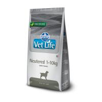 FARMINA VET LIFE DOG NEUTERED для стерилизованных собак весом до 10кг