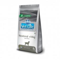 FARMINA VET LIFE DOG NEUTERED для стерилизованных собак весом свыше 10кг