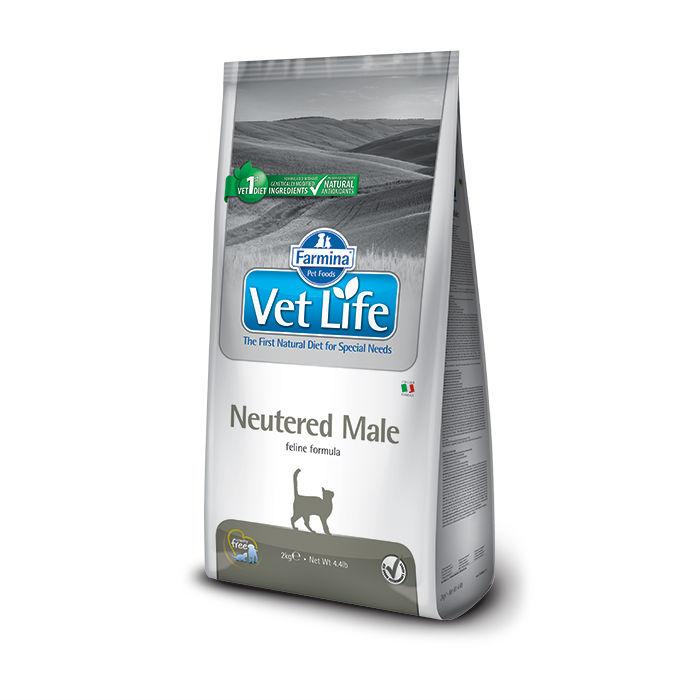 Фото - FARMINA VET LIFE CAT NEUTERED MALE для стерилизованных котов