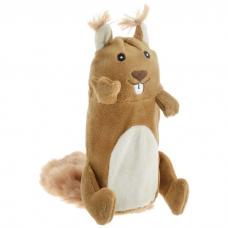 GIGWI 75015 DOG TOY БЕЛКА с большой пищалкой игрушка для собак