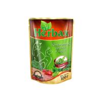 HERBAX Аппетитный кролик в соусе с травами для кошек пауч 100г