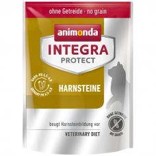 Сухой корм для взрослых кошек ANIMONDA INTEGRA HARNSTEINE URINARY беззерновой при МКБ 30/11