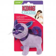 Игрушка для кошек KONG CRACKLES WINKZ CAT КОШКА шуршащая с мятой