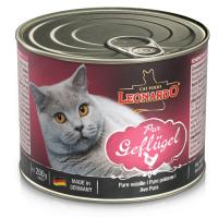 LEONARDO QUALITY SELECTION с птицей для взрослых кошек консервы