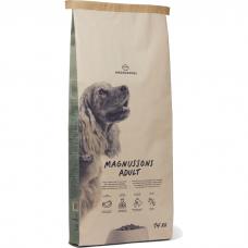 Сухой запеченный корм для собак MAGNUSSONS ADULT низкозерновой со свежей говядиной 24/12
