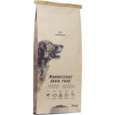 Сухой запеченный корм для собак MAGNUSSONS GRAIN FREE беззерновой со свежей говядиной 24/12