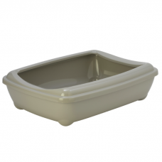 MODERNA ARIST O TRAY туалет-лоток с рамкой теплый серый
