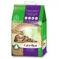 CAT'S BEST SMART PELLETS древесный комкующийся наполнитель для длинношерстных кошек