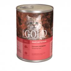 NERO GOLD CAT СОЧНАЯ ГОВЯДИНА консервы для кошек