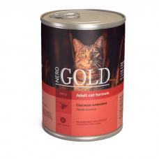 NERO GOLD CAT СВЕЖАЯ ОЛЕНИНА консервы для кошек