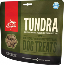 ORIJEN TUNDRA лакомство с мясом оленя, перепела и радужной форели для собак 92г