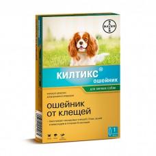 BAYER КИЛТИКС ОШЕЙНИК от блох и клещейдля собак мелких пород 35см