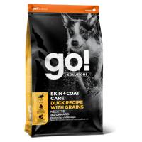 GO! SOLUTIONS SKIN+COAT CARE с уткой и овсянкой для щенков и собак