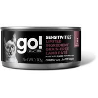 GO! LIMITED INGREDIENT GF LAMB PATE с ягненком беззерновые консервы для кошек с чувствительным пищеварением 100г