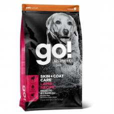 GO! SOLUTIONS SKIN+COAT CARE с ягненком и овсянкой для щенков и собак