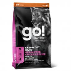 GO! SOLUTIONS SKIN+COAT CARE беззерновой с курицей для щенков и собак