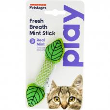 Игрушка для кошек PETSTAGES PLAY МЯТНЫЙ ЛИСТИК для ухода за зубами