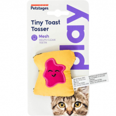 PETSTAGES PLAY МИНИ-ТОСТ игрушка с кошачьей мятой для кошек 8см