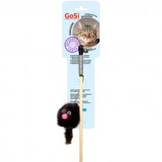 GOSI 07092 ЗВЕРЕК ИЗ НОРКИ НА ВЕРЕВКЕ махалка игрушка для кошек