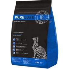 Сухой корм для привередливых кошек PURELUXE беззерновой с курицей и лососем 34/17
