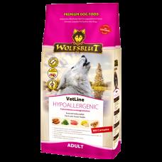 WOLFSBLUT VETLINE HYPOALLERGENIC лечебный гипоаллергенный с уткой для взрослых собак