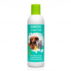 VEDA ДЕЛИКАТНЫЙ шампунь для собак и кошек с проблемной кожей 220мл