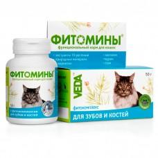 VEDA ФИТОМИНЫ с фитокомплексом для зубов и костей для кошек витамины