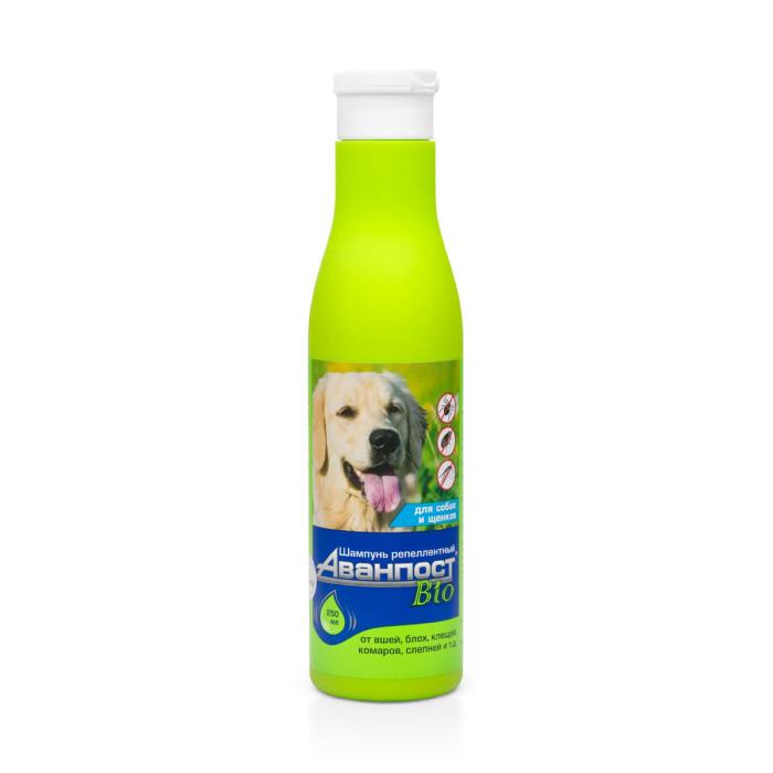 Фото - VEDA АВАНПОСТ BIO шампунь репеллентный для собак 250мл